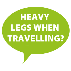 heavy legs when travelling